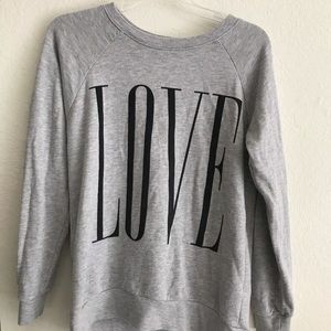 Forever 21 LOVE Knit Sweater